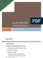 Agile Process Introduction