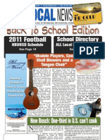 The Local News — September 15, 2011