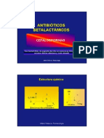 4 Cefalosporinas