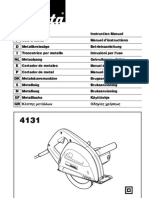 manual cortadora makita 4131 español