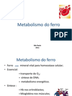 Metabolismo Do Ferro Seminario (1)