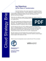 ITPI Cloud Strategy Brief IT Measuring Value