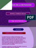 Quinta Clase - Instinto y Conducta Instintiva