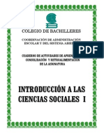 Introduccion a Sociales 1