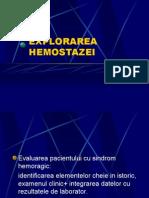 explorarea_hemostazei