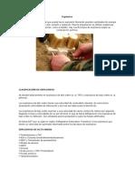 Explosivos y Su Uso en La Mineria Peruana