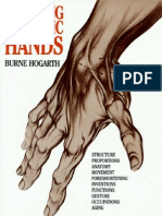 Burne Hogarth - Dynamic Hands