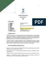 Silabo Filosofia Del Derecho I 2011