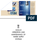 CPHEEO Manual on Operation and Maintenance of Water Supply Systems_2005
