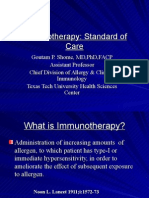 Immunotherapy for PCP