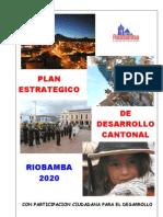 1 Plan de Desarrollo Canton Riobamba