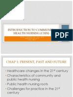 Introduction to Community Health Nursing %28CHN%292011
