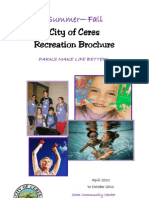City of Ceres Recreation Brochure