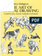 Ken Hulgtren - The Art of Animal Drawing (Eng)