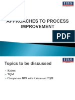 Approaches to Process Improvement