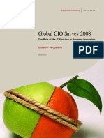 Global CIO Survey 2008 - Innovator Vs