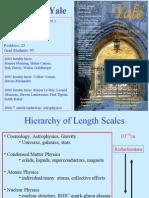 Ya Leg Rad Physics Overview 2006