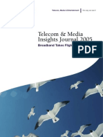 Telecom, Media & Entertainment Insights Journal Volume 1