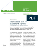 The Business Case for a Greener IT Agenda