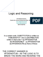 Logic and Reasoning