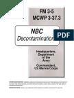 FM 3-5 NBC Decontamination (2000) WW