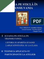 ICOANA PE STICLĂ ÎN TRANSILVANIA slide