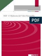 NIIF 13 Medición del Valor Razonable