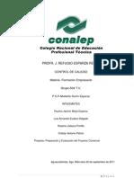 1.1 Preparación y Evaluación del Proyecto Comercial