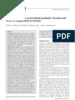 ADJ 2006 51(1) - Practice of New Grads