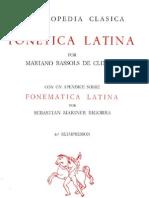 Fonética latina - BASSOLS