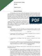 Assignment (Business Communication)