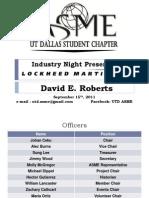 Lockheed Presentation
