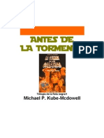 Kube-McDowell, Michael P. - Star wars - La nueva república - Trilogía de la flota negra 1 - Antes de la tormenta