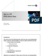 QoS and LTE