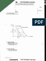 2001 Economics Paper 1 Marking Scheme