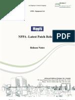 Hays-NPPA Release Note