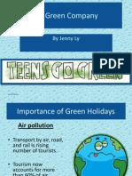 Go Green Teenagers