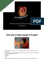 ¿Por qué el Agua apaga el Fuego?