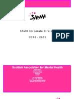 SAMH Corporate Strategy 2010-2015