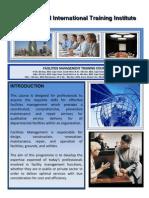 Course Outline - Facilities Management - 2011