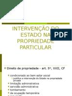 Professor A Márcia - Intervenção Do Estado Na Propriedade Particular - 6º Sem