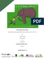 SfG_July 2011 Report