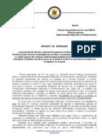 Referat aprobare proiect ANP protectie personal