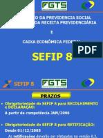 Apresentação SEFIP ABR2007