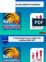SaTVAT Gujarat VAT Software
