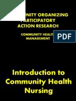 Community Organizing Participatory