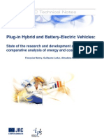 JRC (2009) - Plug-In Hybrid and Battery-Electric Vehicles