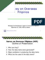 Survey on Overseas Filipinos
