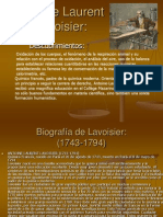 Antoine Laurent Lavoisier Palavecino