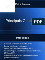 Erick Fromm- Conceitos Principais